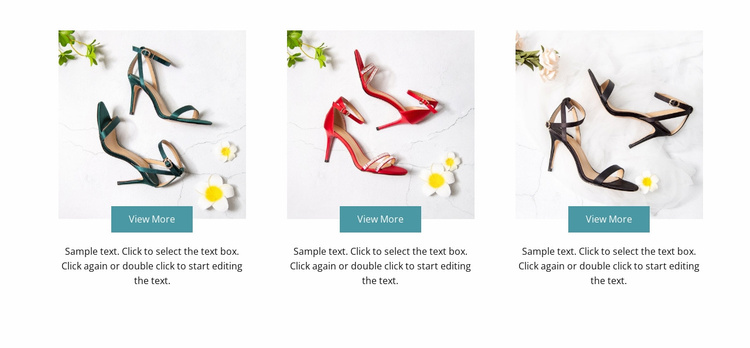 Spring collection Website Template