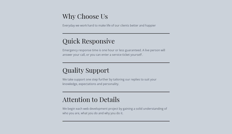Leading IT services Website Mockup