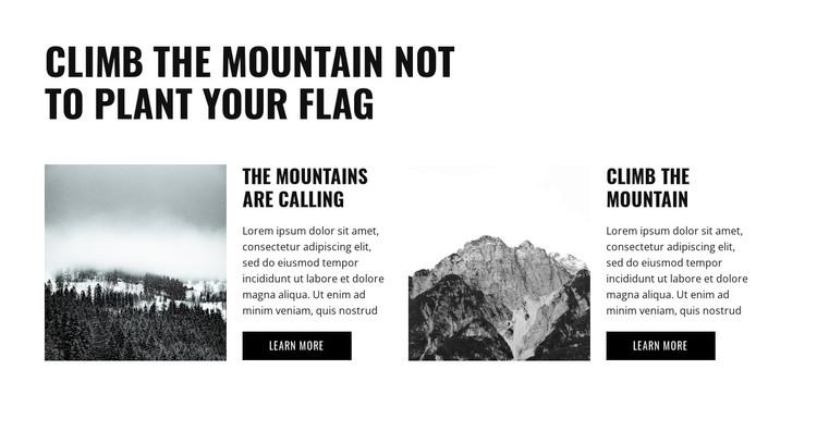 Preparing for the hike WordPress Theme