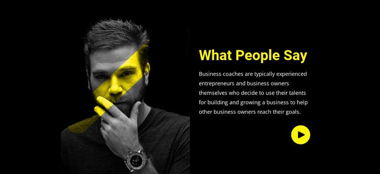 Customers share their stories WordPress Website Builder