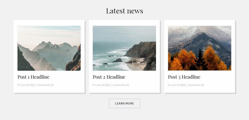 Sport Club News Web Page Designer