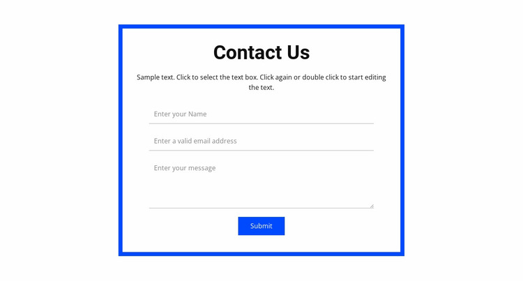 Book a consultation Website Mockup