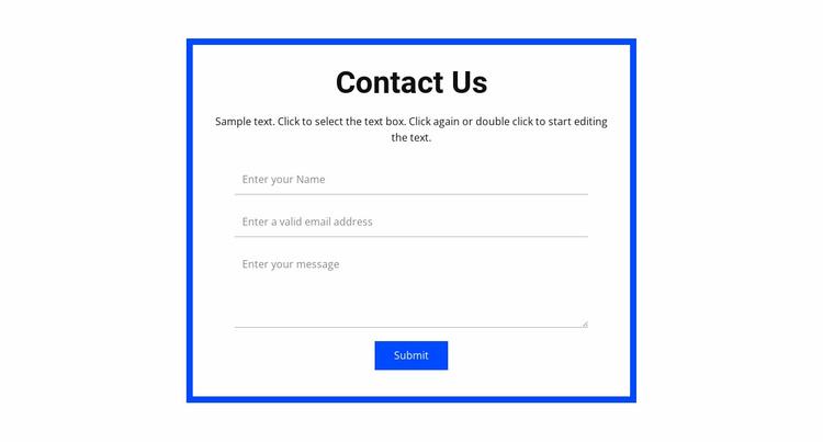 Book a consultation Website Template