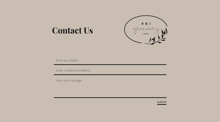 Write if you have questions Website Design