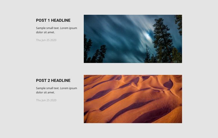 Travel agency news WordPress Theme