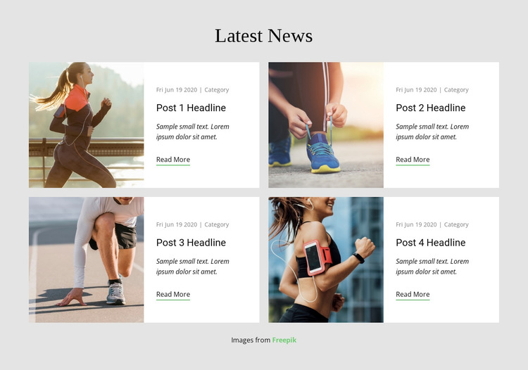 Latest News HTML5 Template
