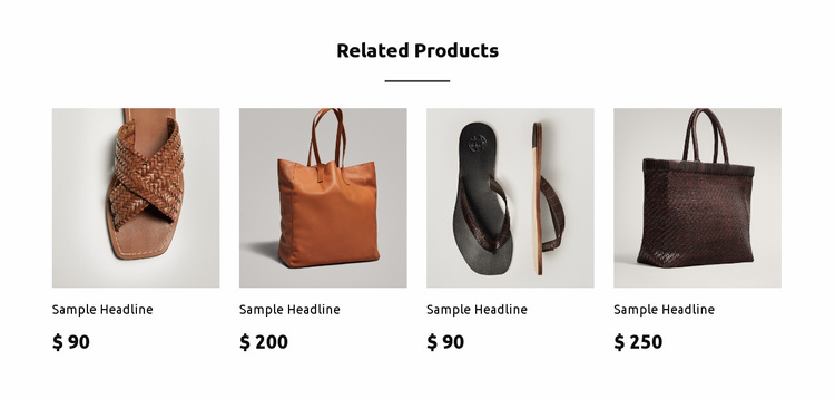 New collection Landing Page