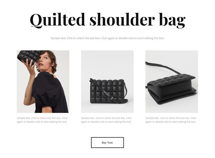 New bag collection Html Code