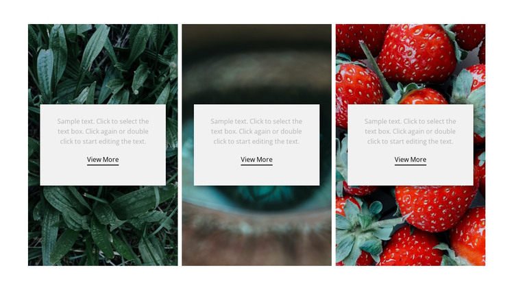 Nature and healthy HTML Template
