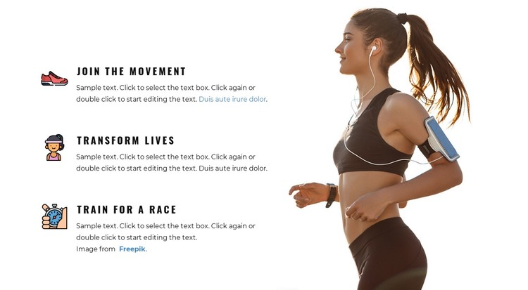 Full-body workouts Static Site Generator