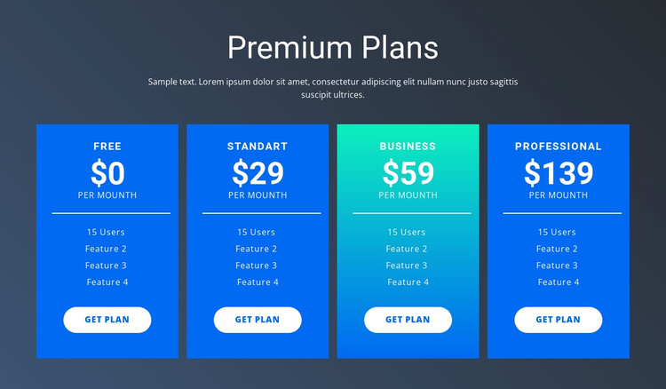 Value-based pricing Joomla Template