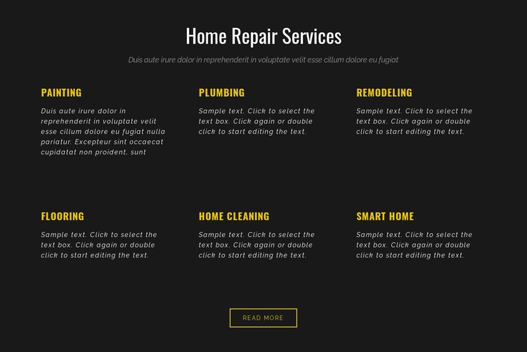 Residential services Website Builder Software