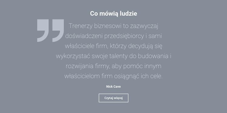 Opinie i recenzje klientów Szablon Joomla