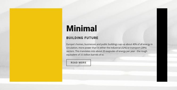 Minimal style Static Site Generator
