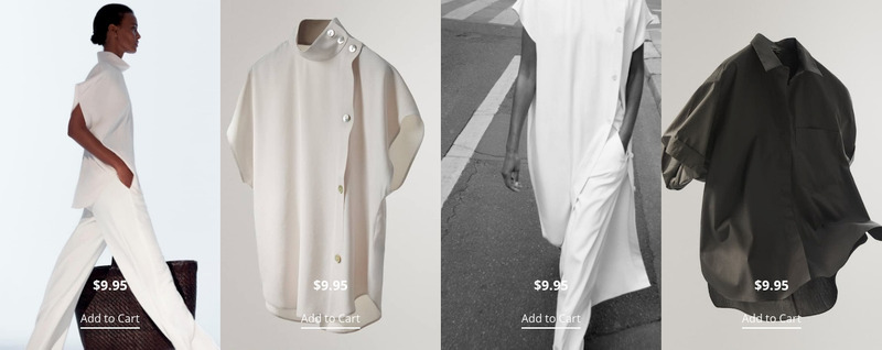 New fashion trends Web Page Design
