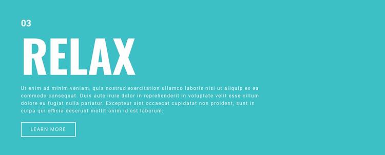 Relax WordPress Website Builder