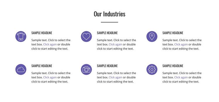 Digital revolution Homepage Design