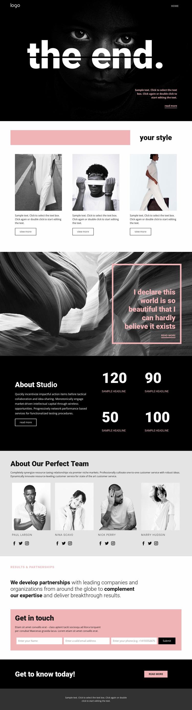 Perfecting styles of art WordPress Website Builder