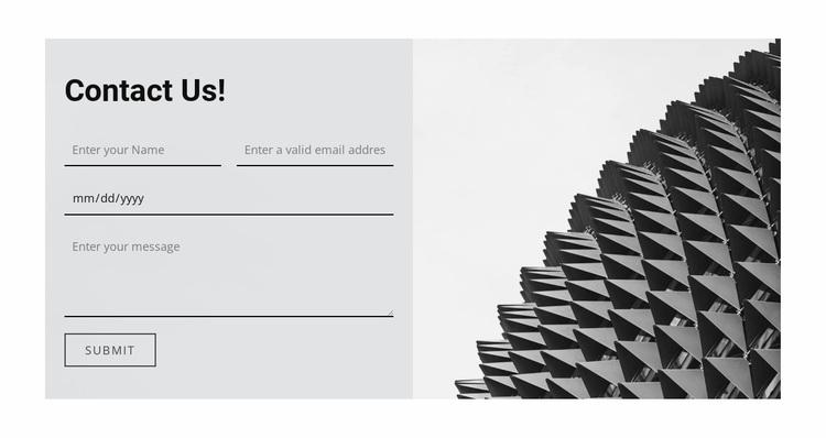 Write us a question Website Design