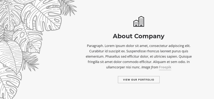 Editorial and graphic desig CSS Template