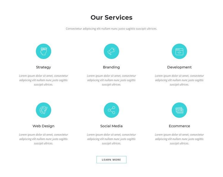 Digital marketing solutions Html Code Example
