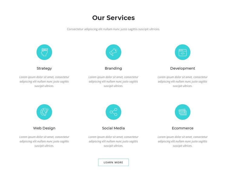 Digital marketing solutions HTML Template