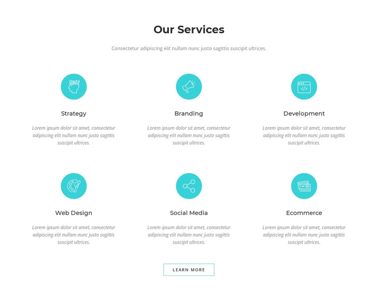 Our Services HTML5 Template