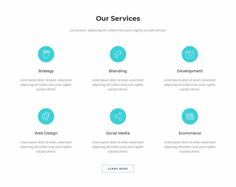 Our Services Website Design