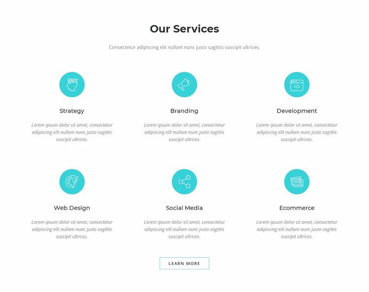 Digital marketing solutions Website Mockup