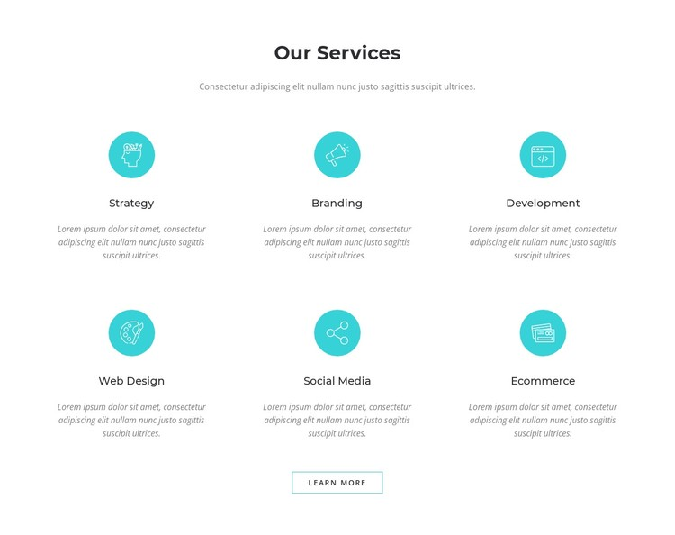 Digital marketing solutions WordPress Template