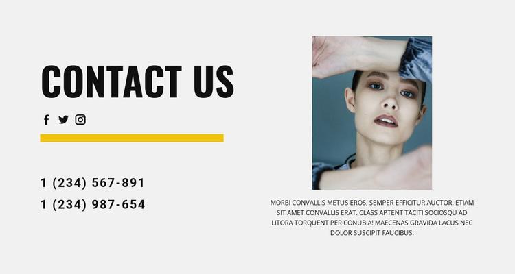 We are in social Website Design
