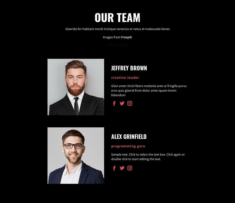 We create solutions Website Builder Software