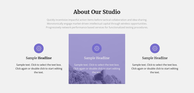 About our architecture studio HTML5 Template