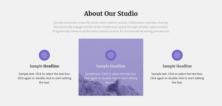 About our architecture studio WordPress Theme
