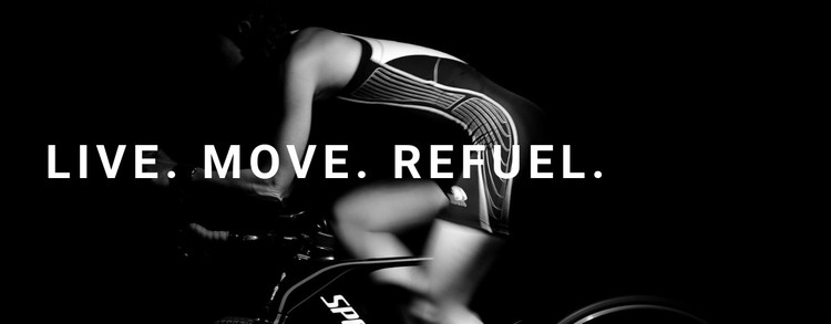 Live, move and refuel CSS Template
