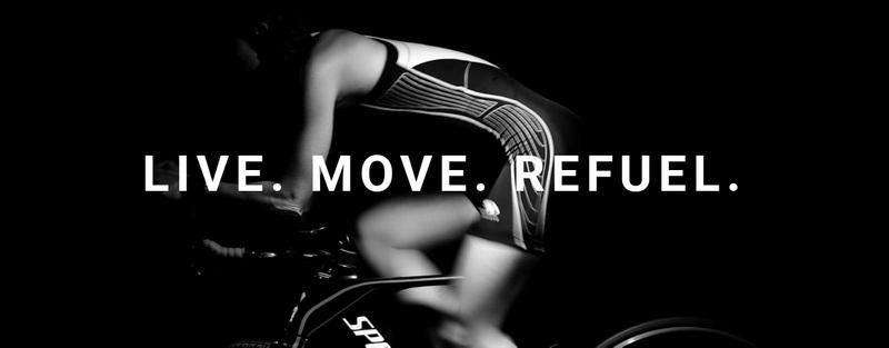 Live, move and refuel Web Page Design