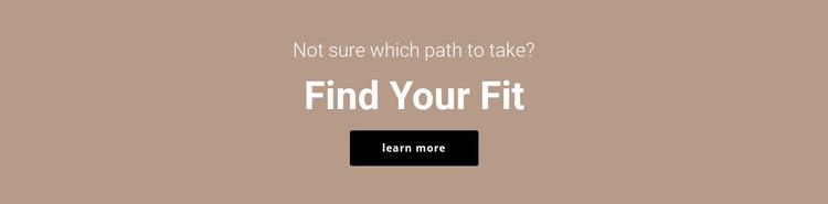 Find your fit WordPress Website Builder