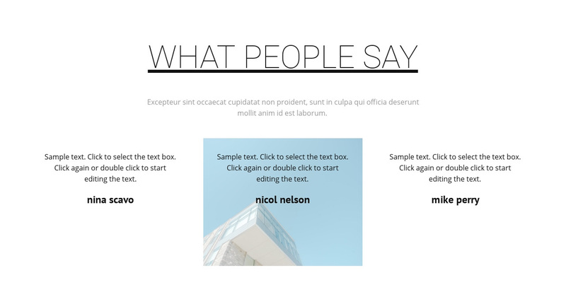 What happy customers say Web Page Design