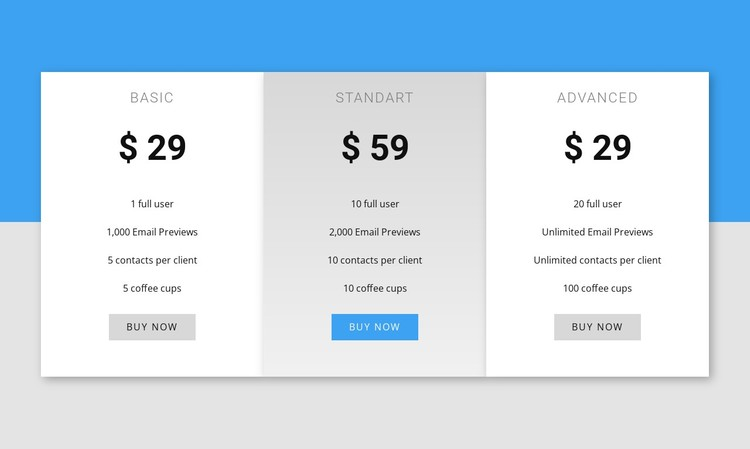 Our pricing Static Site Generator