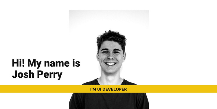 I'm Josh Perry Web Design