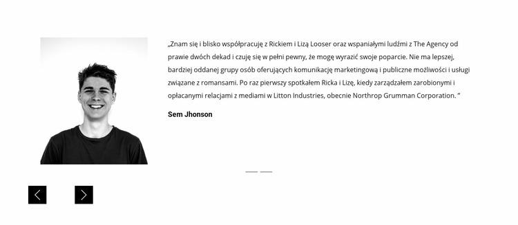 Recenzje i referencje Szablon Joomla
