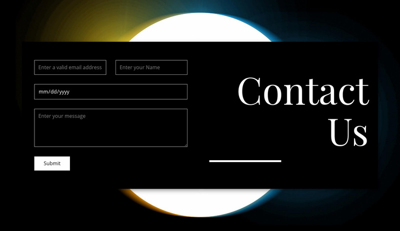 Make an appointment Web Page Designer