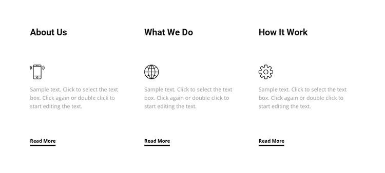 We care about making future WordPress Theme