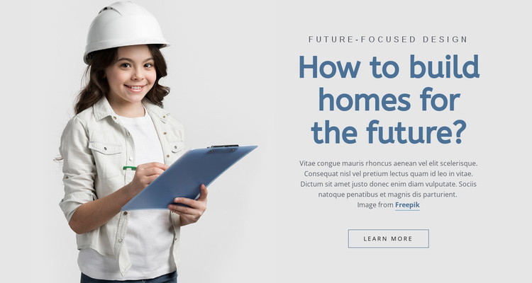 Building Company Website Template