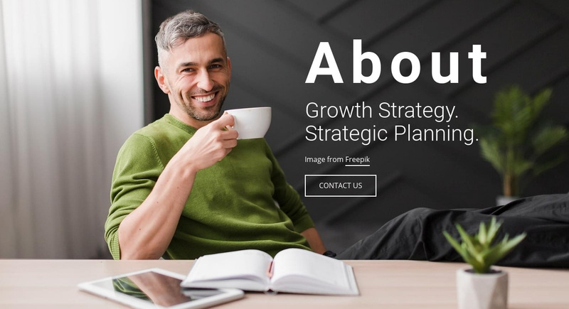 Growth Strategy Web Page Design