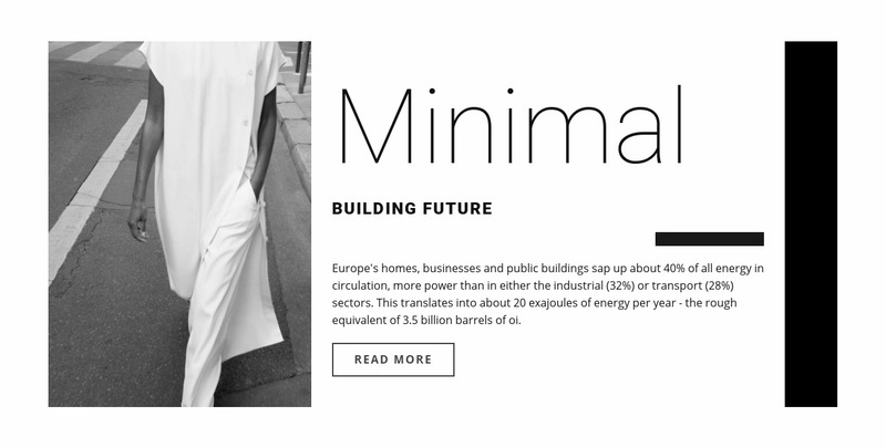 Minimal design Web Page Designer