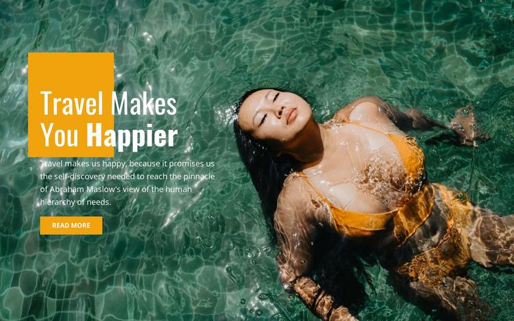 Guided snorkel travel Website Builder Software