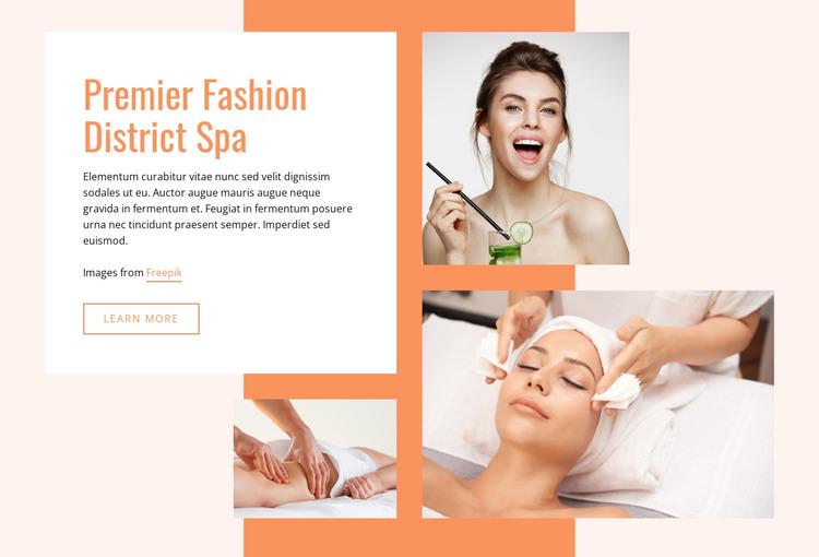 Premier Fashion Spa HTML Template
