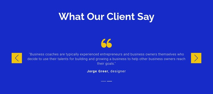 We value our clients Static Site Generator