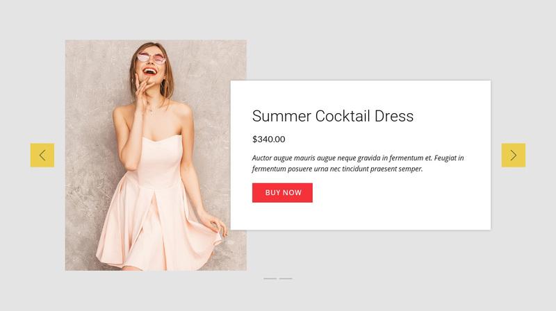 Top Summer Deals Web Page Design